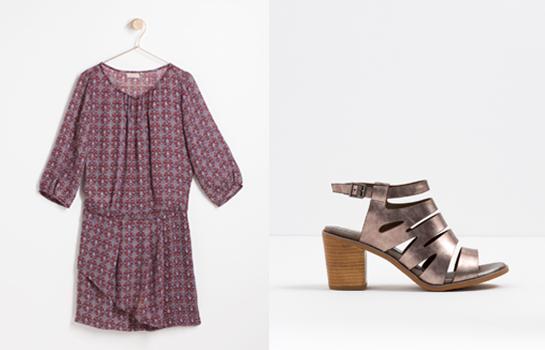 Vestido y zapatos Trucco