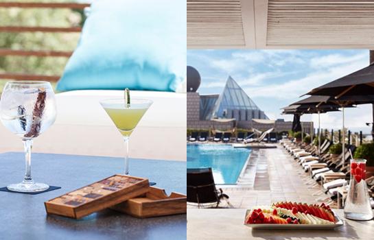 Vale, puede que el Hotel Arts no tenga un rooftop como tal, pero su terraza a orillas del mar merece una mención especial. ¿No estáis de acuerdo?