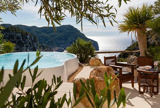 Hacienda Na Xamena, un oasis de lujo en Ibiza