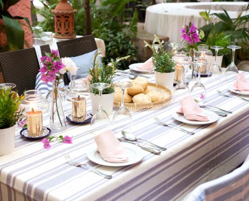 Como preparar la mesa perfecta
