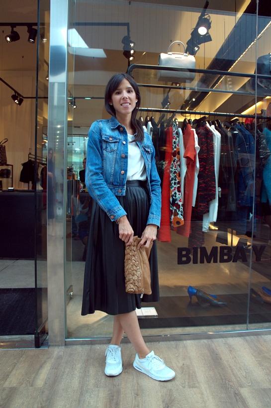 Lara Gente con style