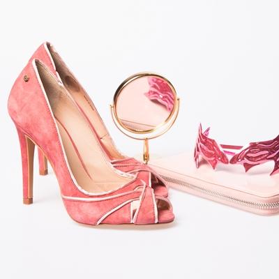 tacones rosa Martinelli