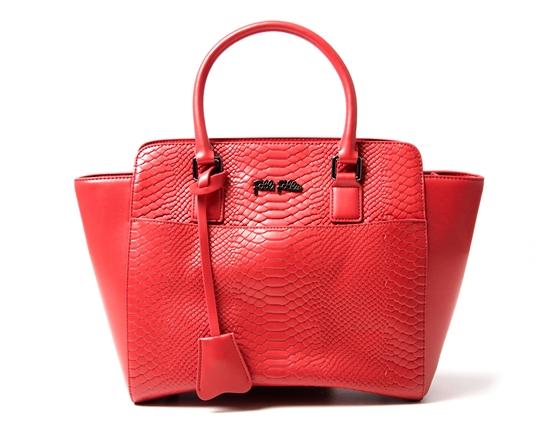 bolso follie rojo