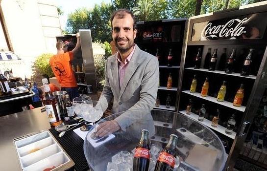 """Sergi Estévez. """"Taller de coctelería sin alcohol y cata de Coca Cola"""""""