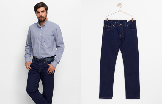 Jeans Tenkey azul