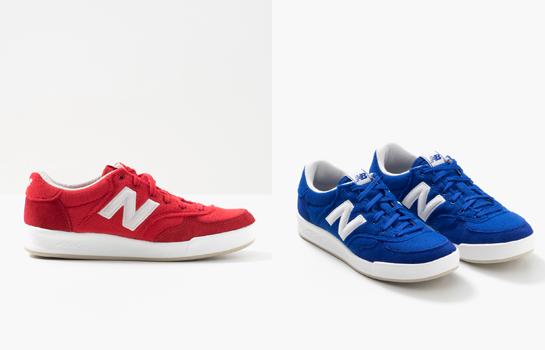 zapatillas New Balance Crt300 rojas y azules
