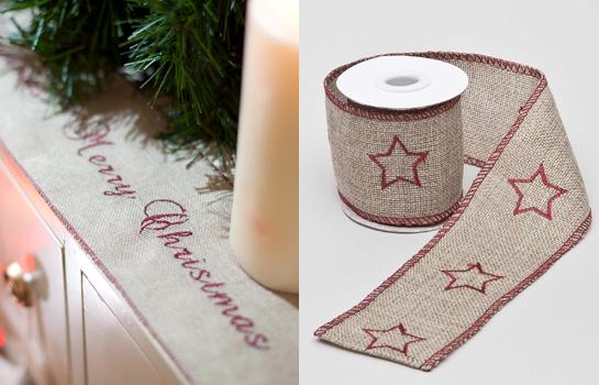 Cintas de Textura para Navidad