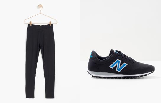 Pantalones Trucco, zapatillas New Balance
