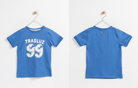 camiseta heladio Trasluz azul