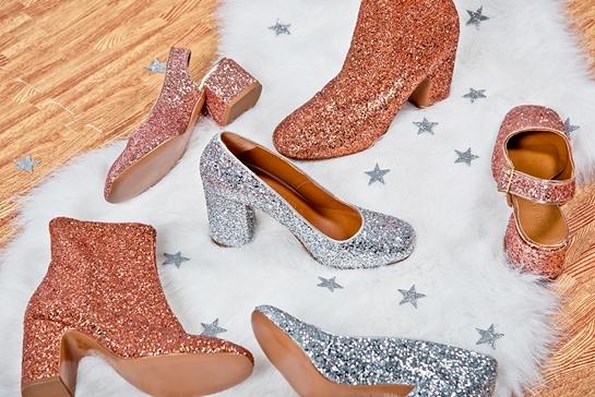 tendencia zapatos glitter