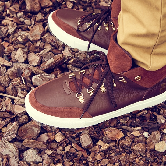 zapatillas marrones Fifty Factory