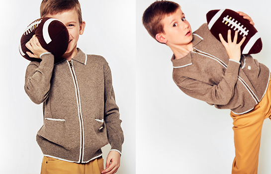 La moda también es un juego de niños