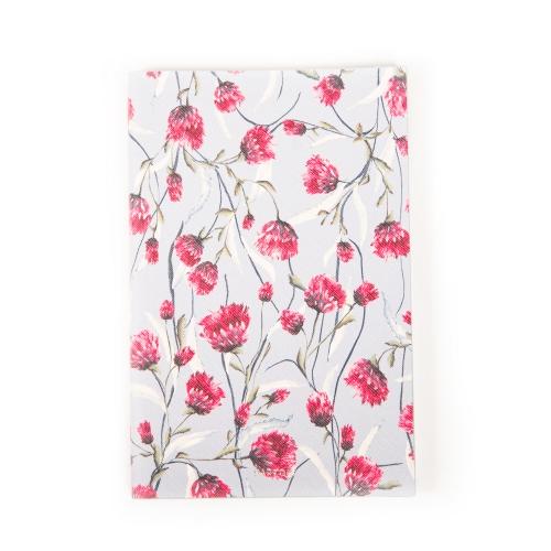 cuaderno de flores