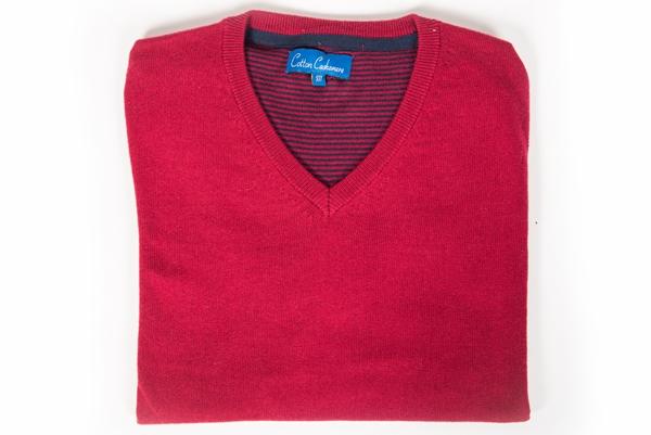 jersey rojo cuello de pico storemen