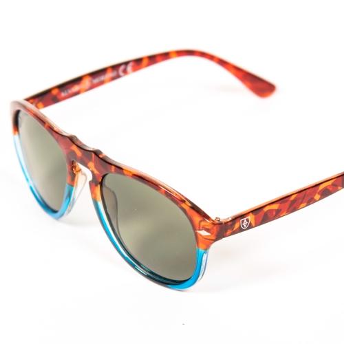 gafas carey y azul