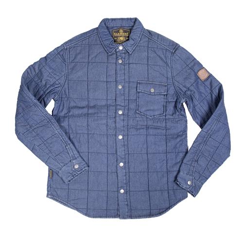 camisa denim cuadros de element