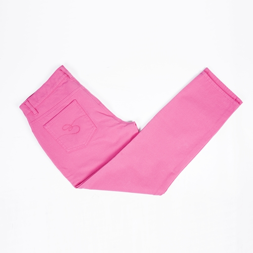 pantalones rosa fucsia
