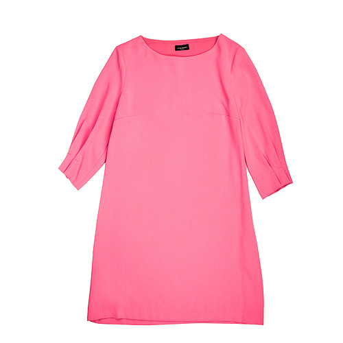 vestido rosa javier simorra
