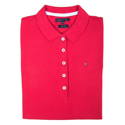 polo rojo tommy hilfiger
