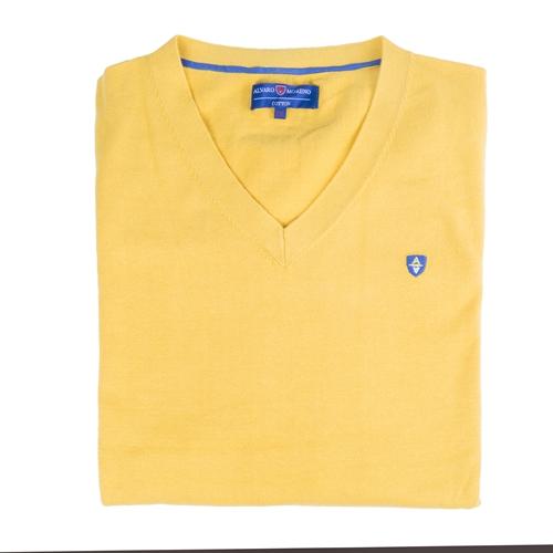 jersey amarillo Álvaro Moreno
