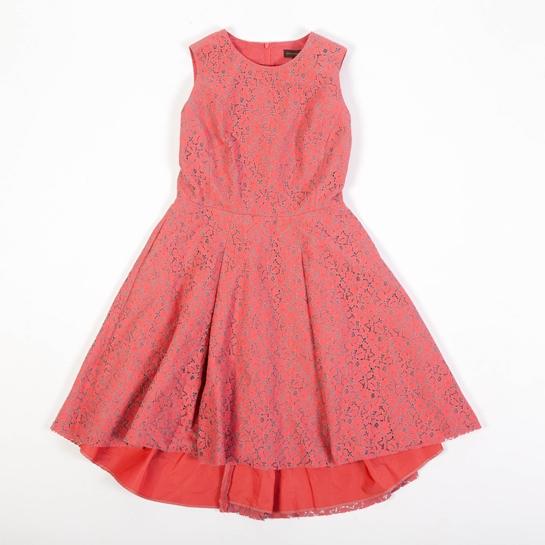 vestido lady coral