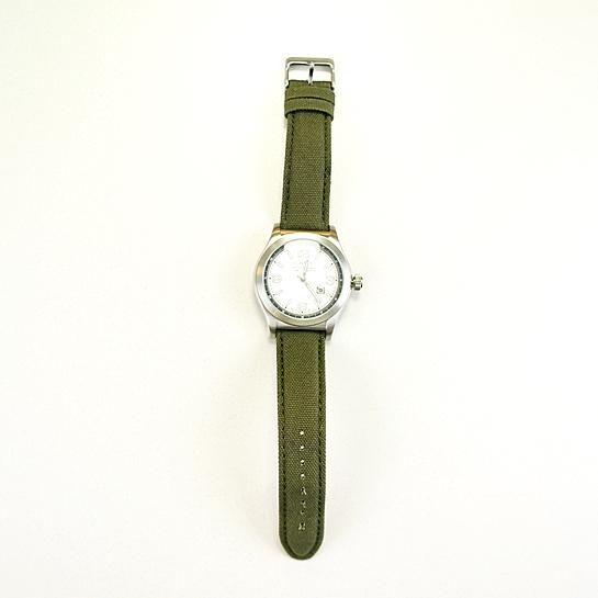 reloj verde caqui