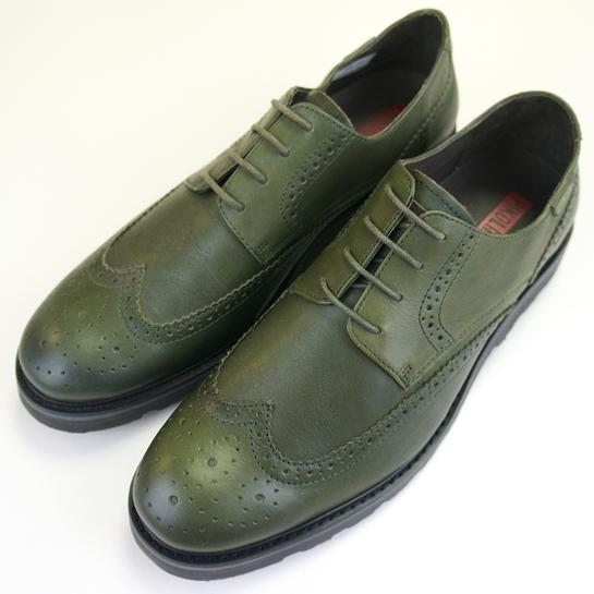 zapatos verde caqui