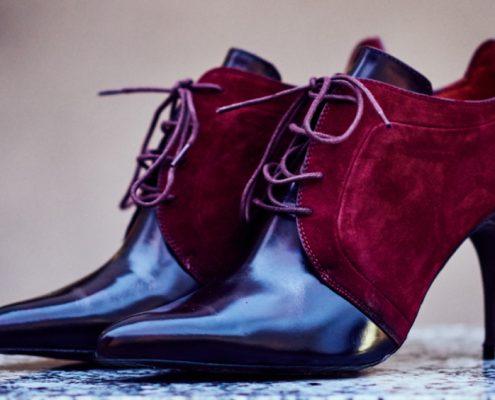zapatos masculinos con tacón
