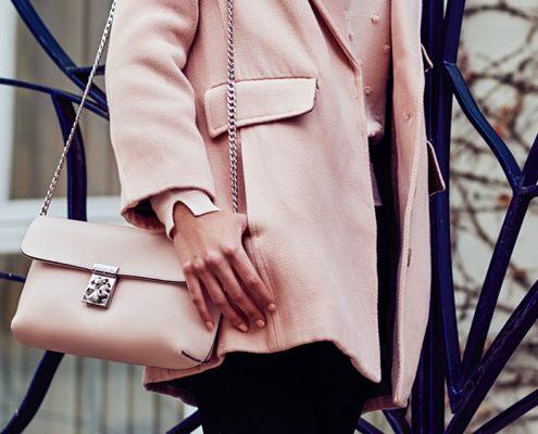 bolso rosa cuarzo
