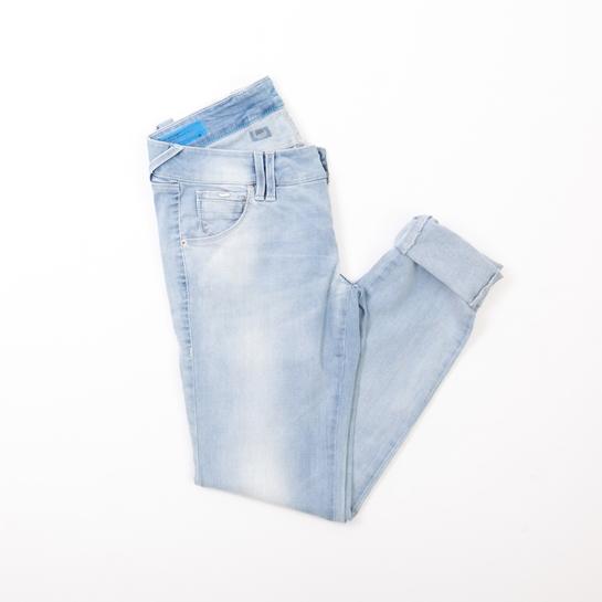 jeans lavados claros