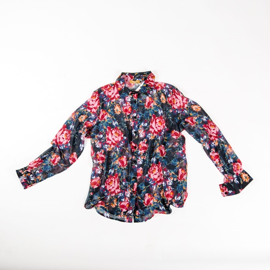camisa flores Naulover