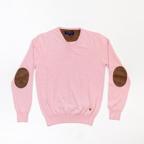 jersey rosa con coderas Álvaro Moreno