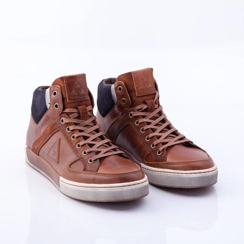 zapatillas marrones Le coq sportif