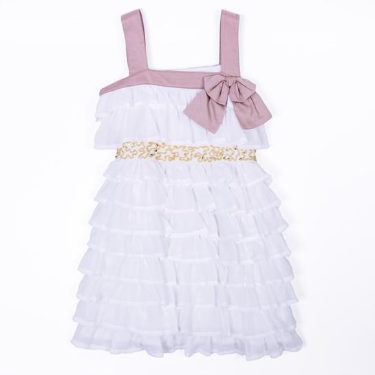 vestido volantes niña Adolfo Domínguez