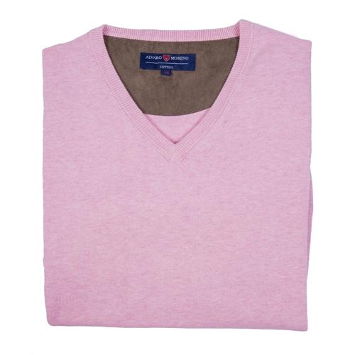 jersey rosa Álvaro Moreno