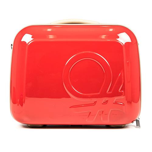 maleta roja benetton