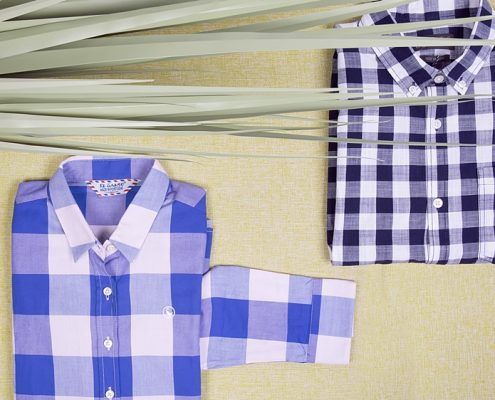 bodegón camisas cuadro vichy