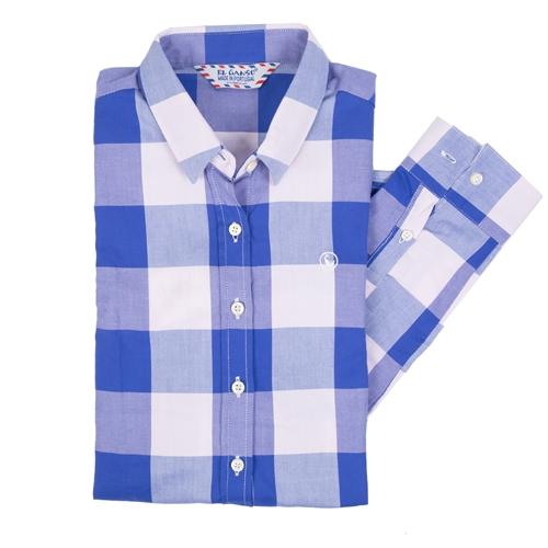 camisa cuadros vichy grandes