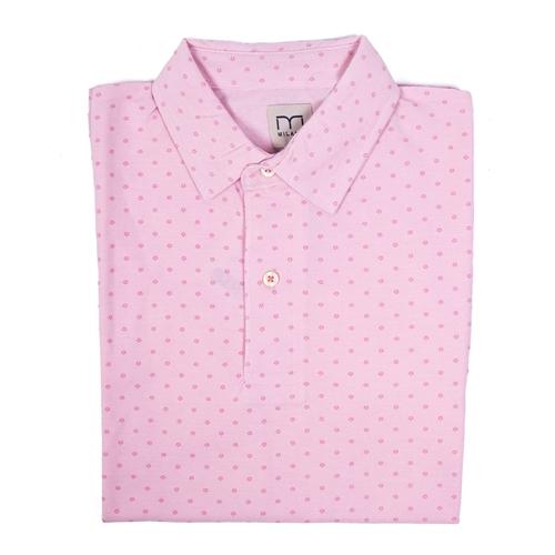 camisa lunares rosa