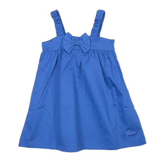 vestido azul lazo de Guess
