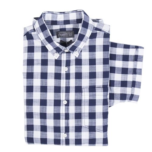 camisa cuadros azules lamford