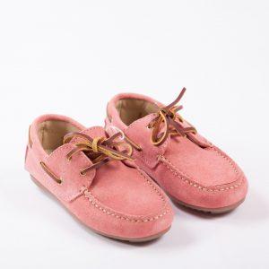 mocasines rosa nanos