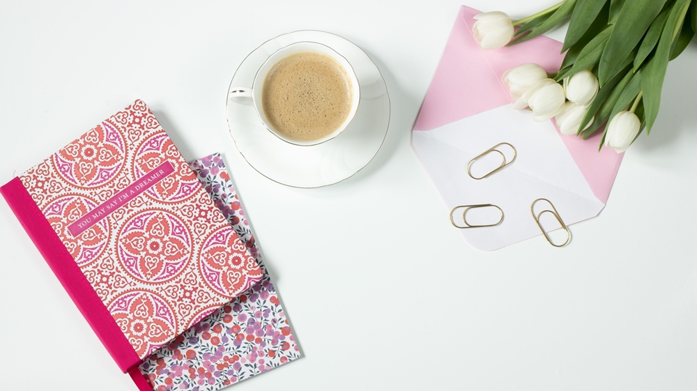 agenda café y flores