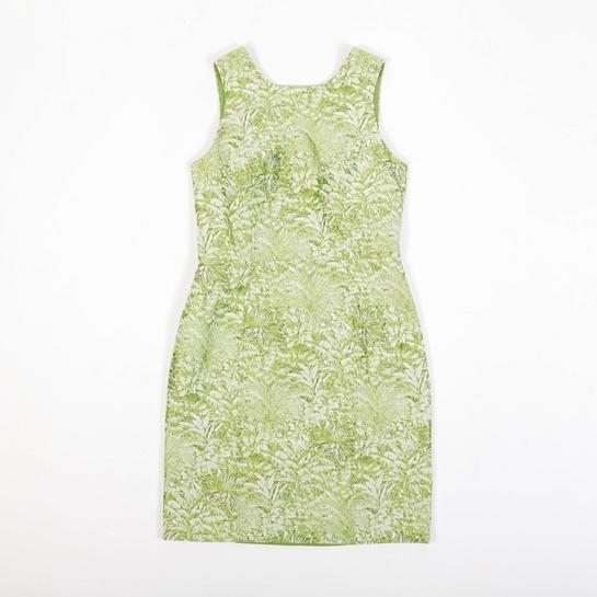 vestido verde Javier Simorra