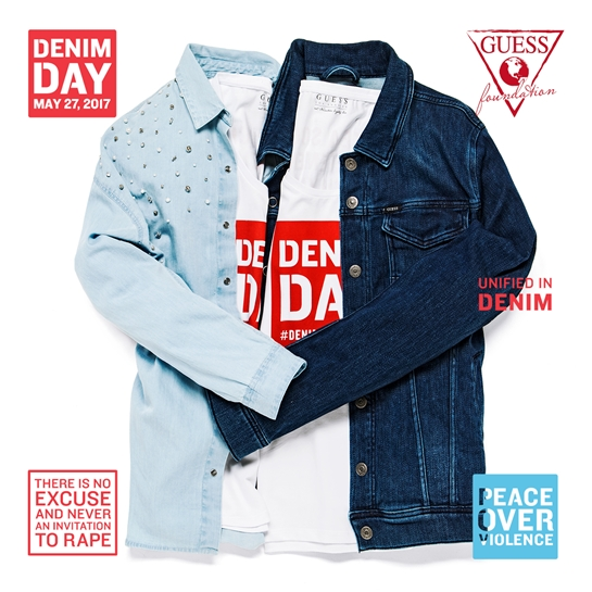 pieza denim day guess