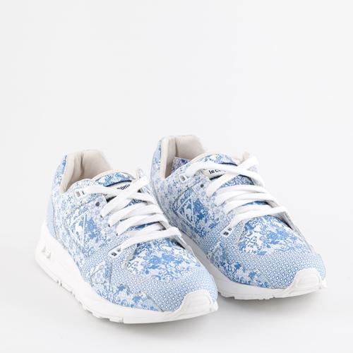 zapatillas estampadas celeste