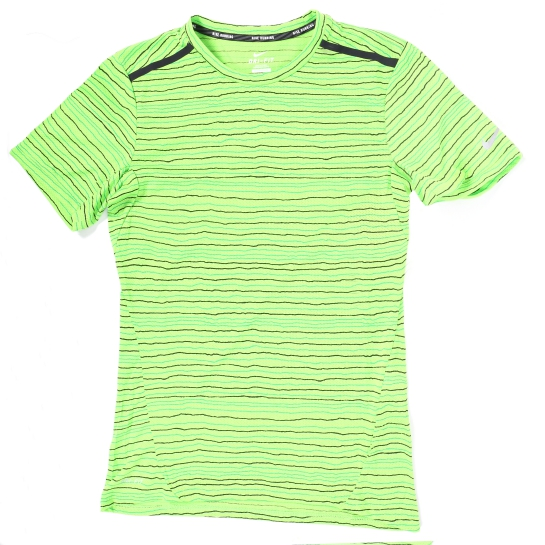 camiseta verde flúor nike
