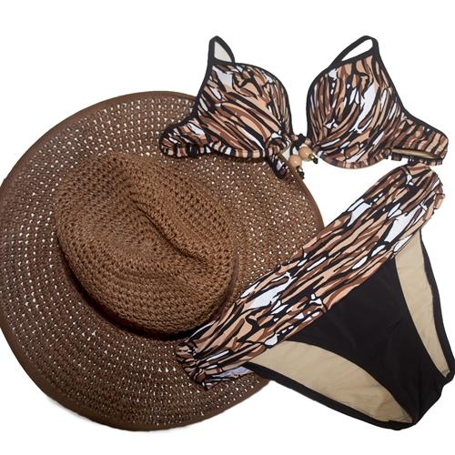 bodegón bikini y pamela