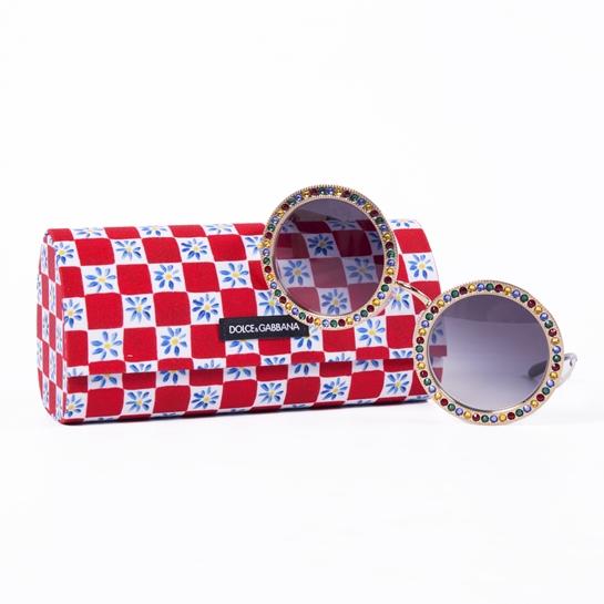 gafas redondas Dolce&Gabbana