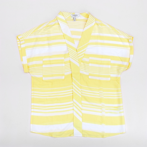 camisa rayas amarillas